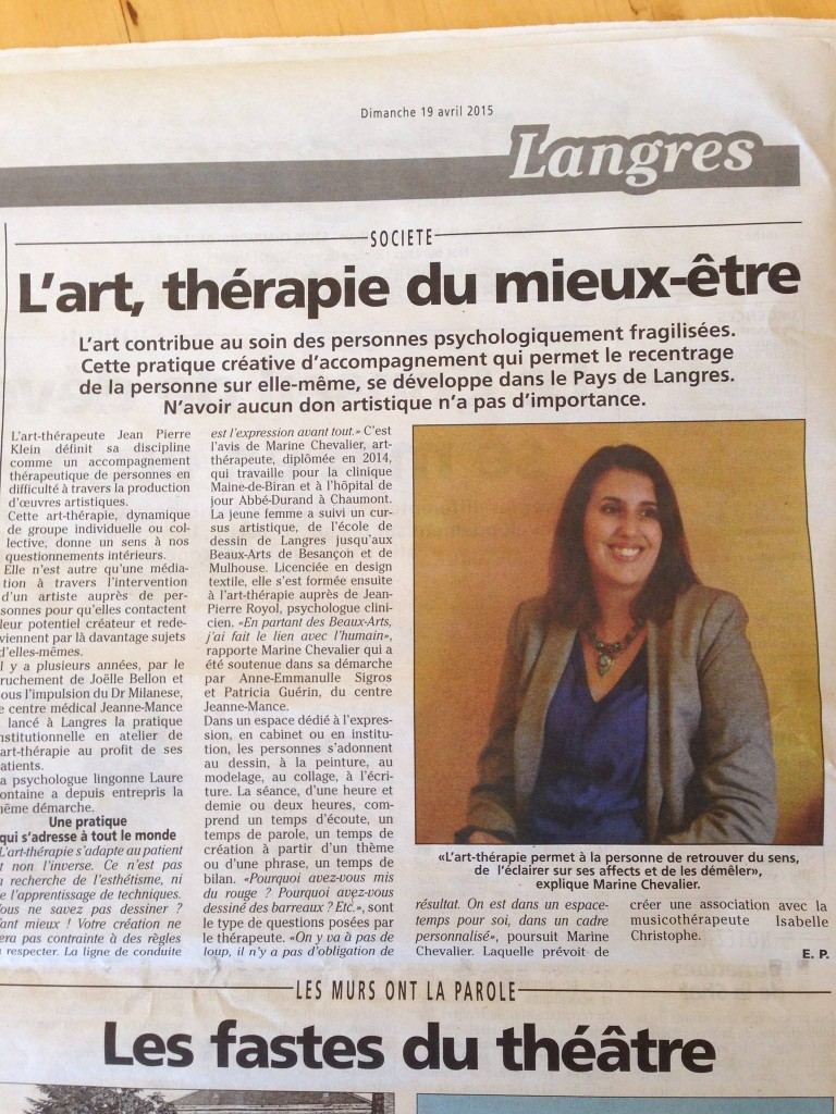 AT Article Art-thérapie