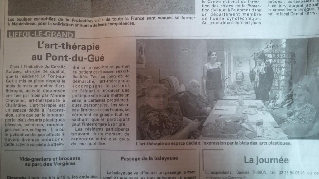 art-thérapie Marine Chevalier
